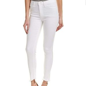 BNWT Joe's Jeans, white high rise skinny,  sz 29